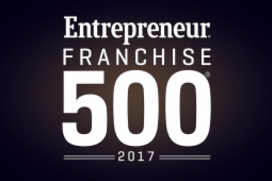 Entrepreneur Magazine Top 500 Franchises 2017 Image