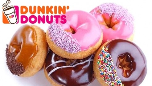 How to open a dunkin donuts - logo image