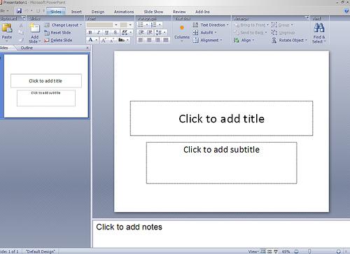 PowerPoint 12
