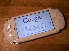 Google on Sony PSP