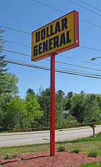 Dollar General Pole Sign, Schroon Lake NY