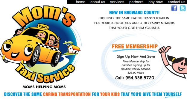 Mom Owned, Mom Approved Taxi Service For Kids –