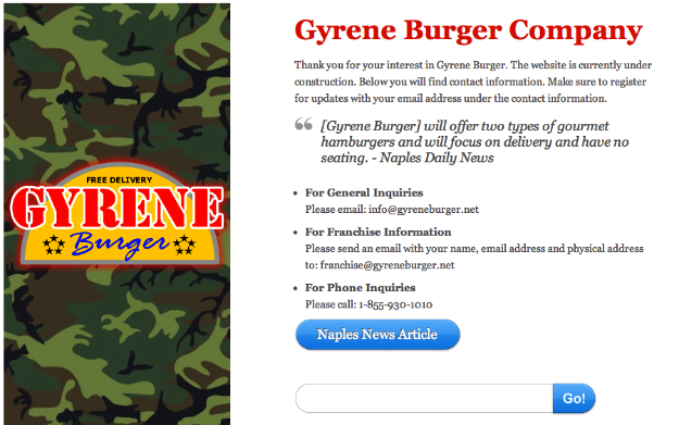 Gyrene Burger