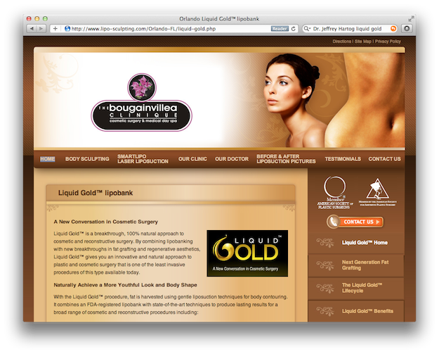 Liquid Gold Liposuction Bank