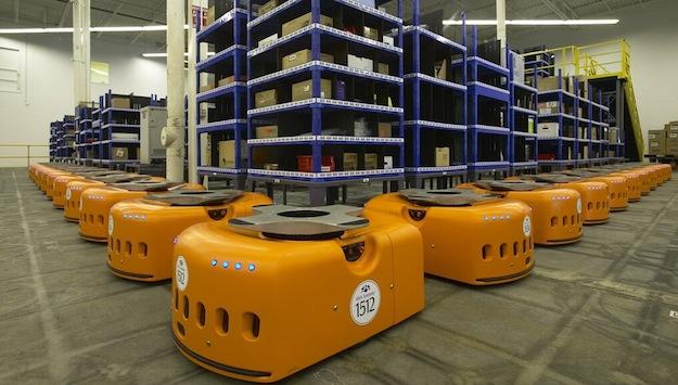 Transportroboter Kiva Systems