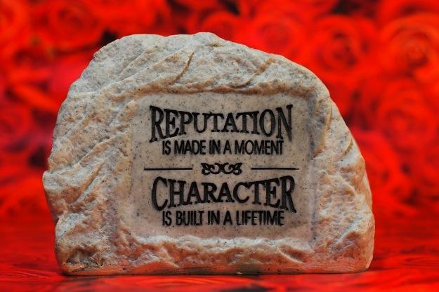 Reputation in Stone