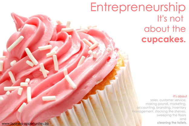 Entrepreneurship it's not About the Cupcakes
