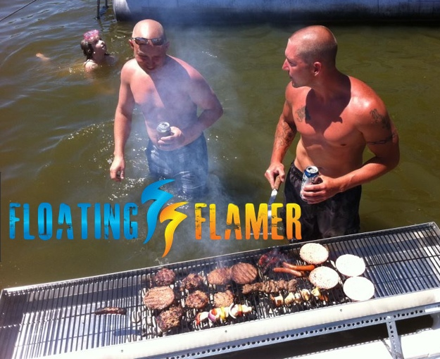 Flaming Floater 1