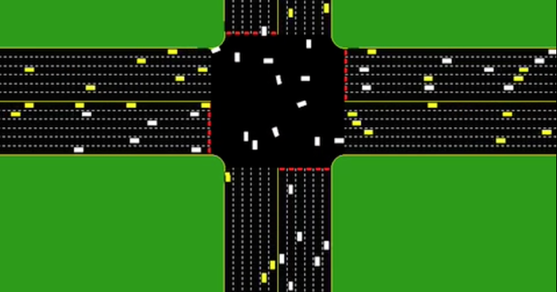 Intersections Without Traffic Lights