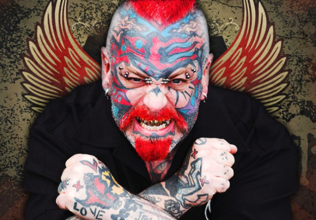 Scary guy