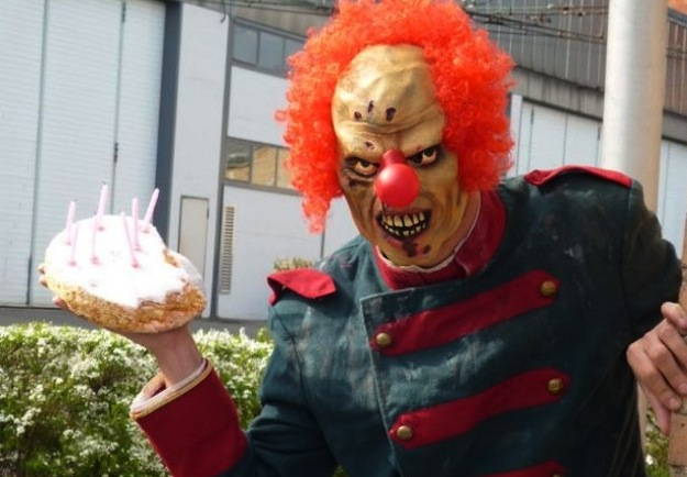 Evil Birthday Clown