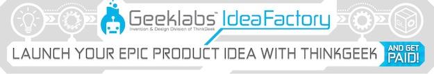 Geeklabs Idea Factory Header