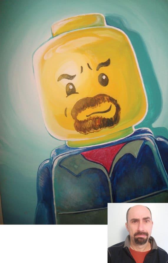 Lego Portrait