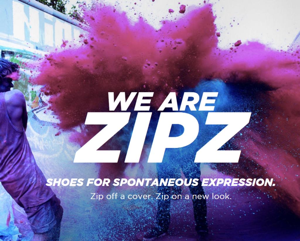 Image of Zip Shoes