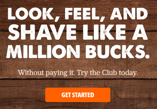The Dollar Shave Club Order Now Image Button