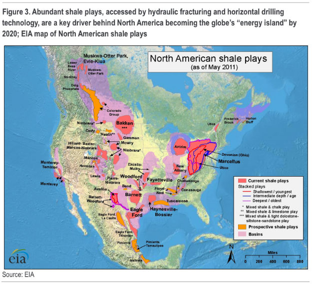 North American Shale Plays oil Extraction 1