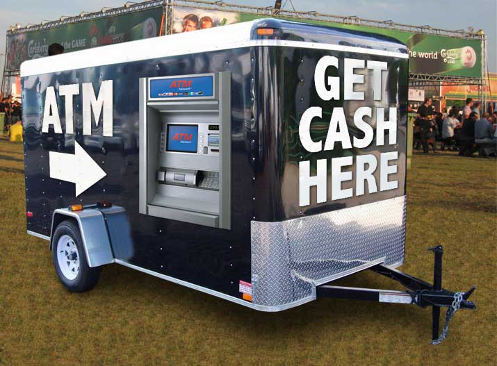 How to start up a ATM business