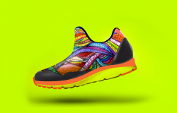 Trendy GPS Enabled Kids' Shoes