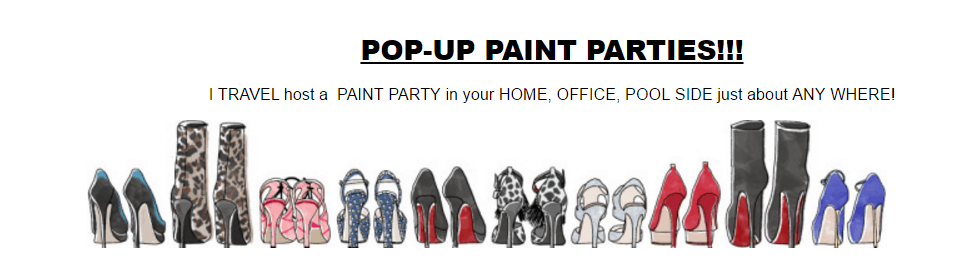 Mobile Paint Parties for Everyone!
