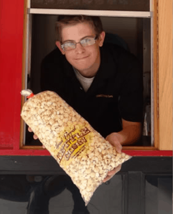 OMG Kettle Corn in Glendale Arizona - outside Cabelas