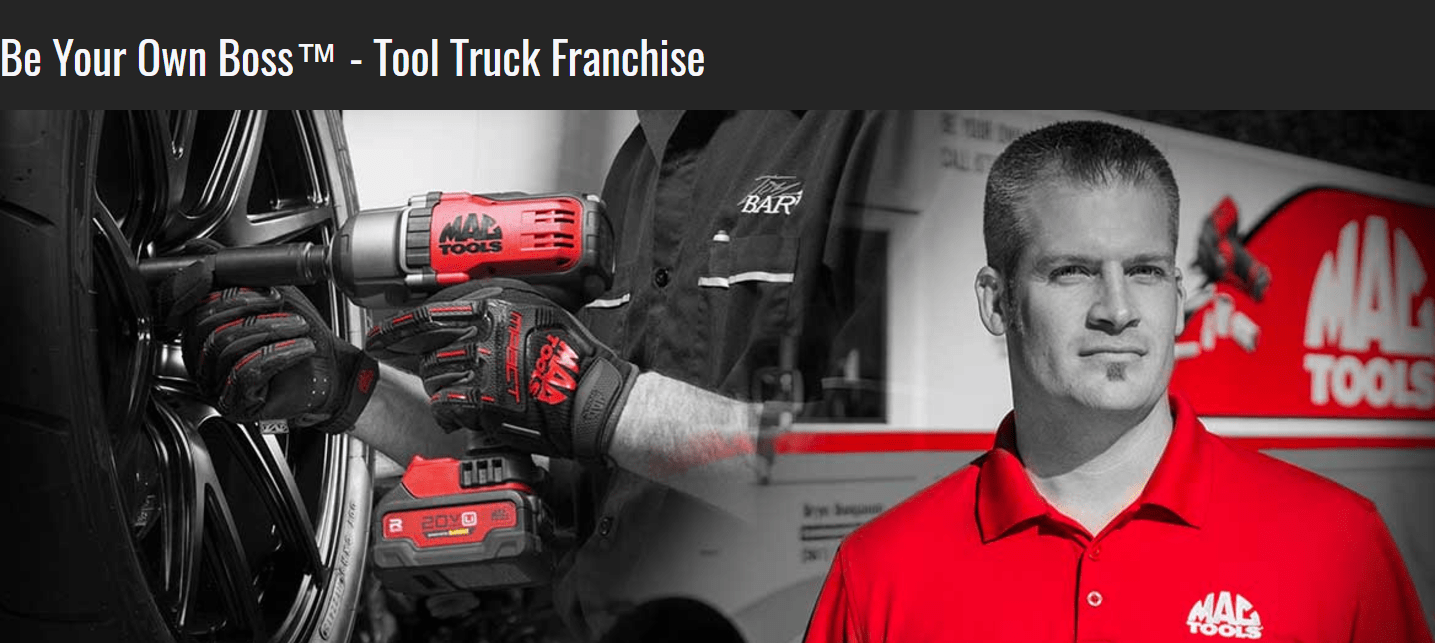How to Open a MAC Tool Truck Franchise