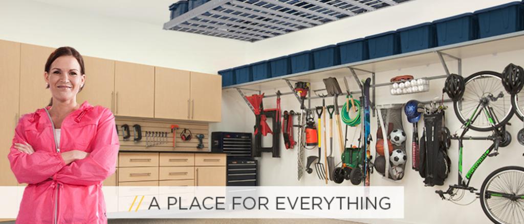 Image of Monkey Bars Garage Storage Solutions