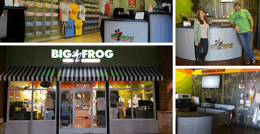Big Frog franchise 2