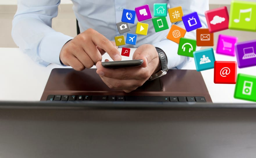 Apps on the Smart Phone in the Office