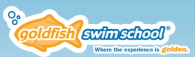 Gold Fish Swim School Logo