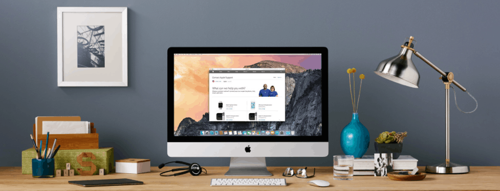 Image of iMac Computer for Apple Home Advisor Jobs