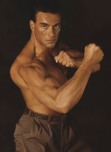Young Image of Jean Claude Van Damme
