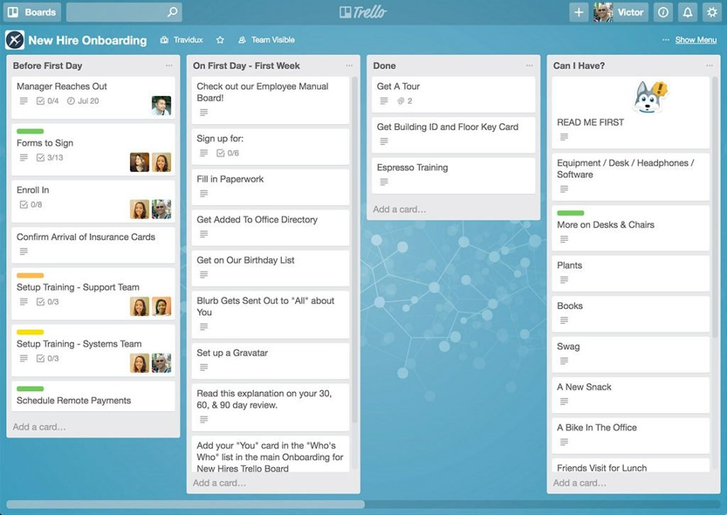 Business Software - Trello