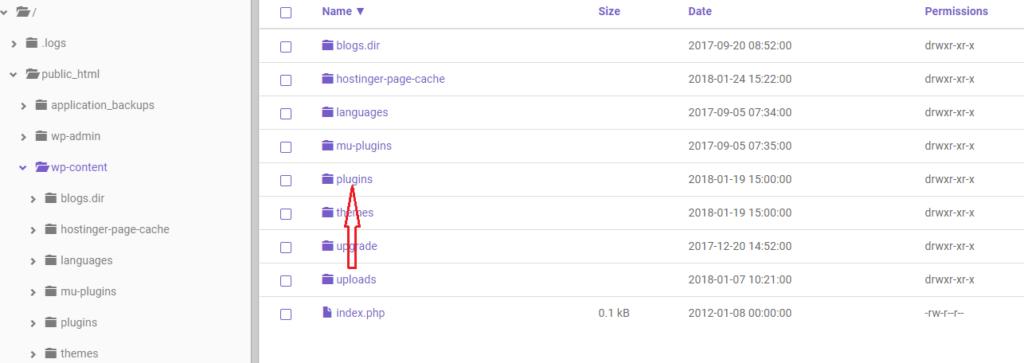WordPress error 2