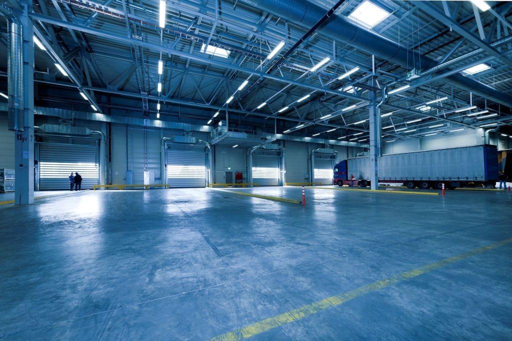 warehouse - truck