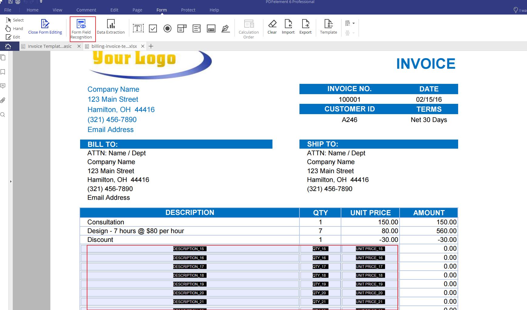 invoices 10