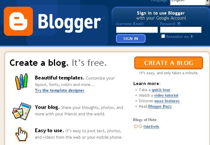beginning bloggers
