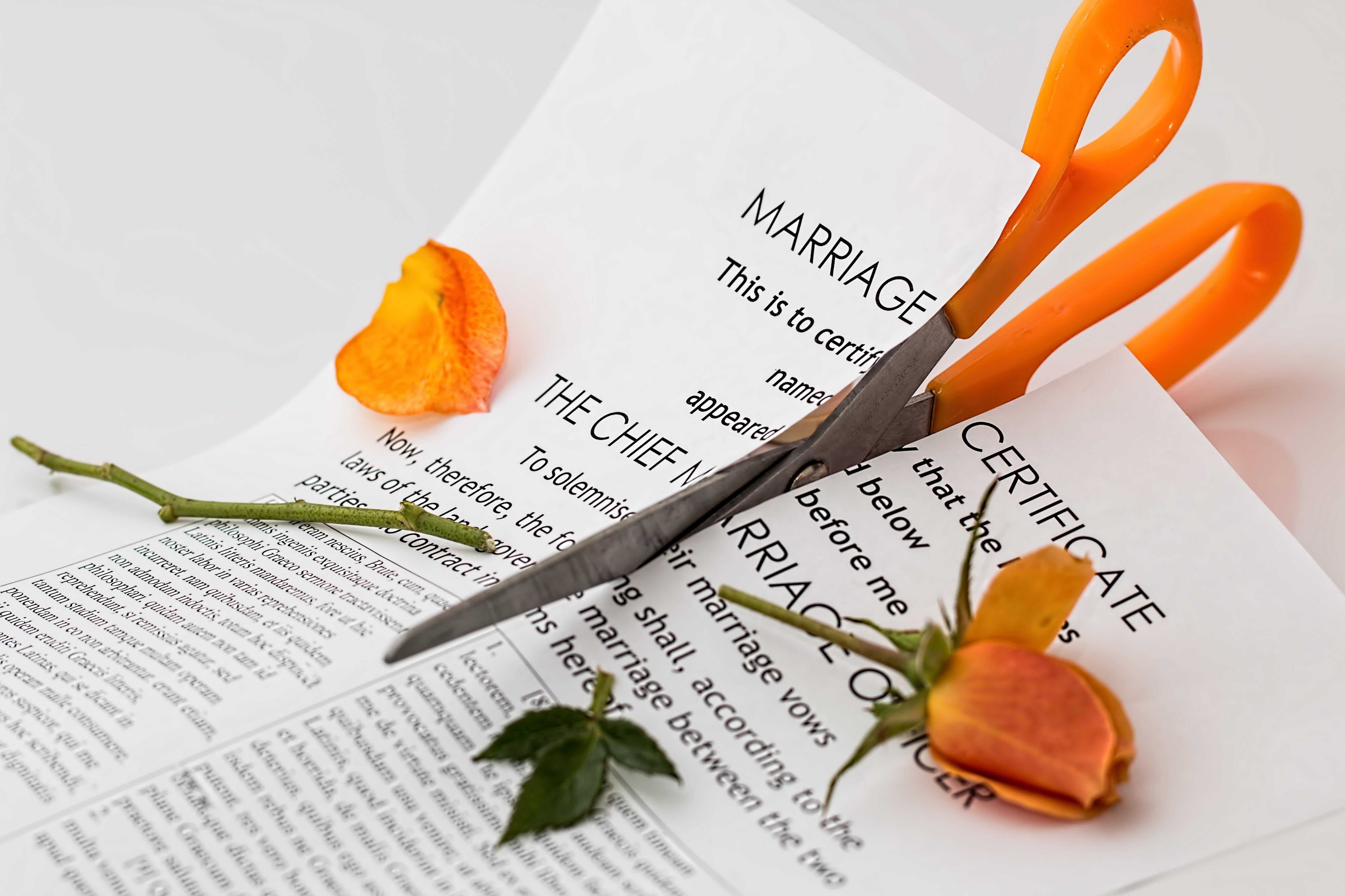 no-fault divorces