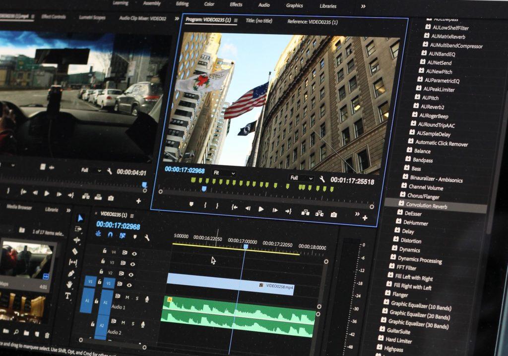 editing videos