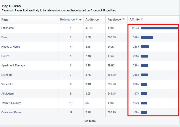 Facebook Audience Insights - screen shot 6
