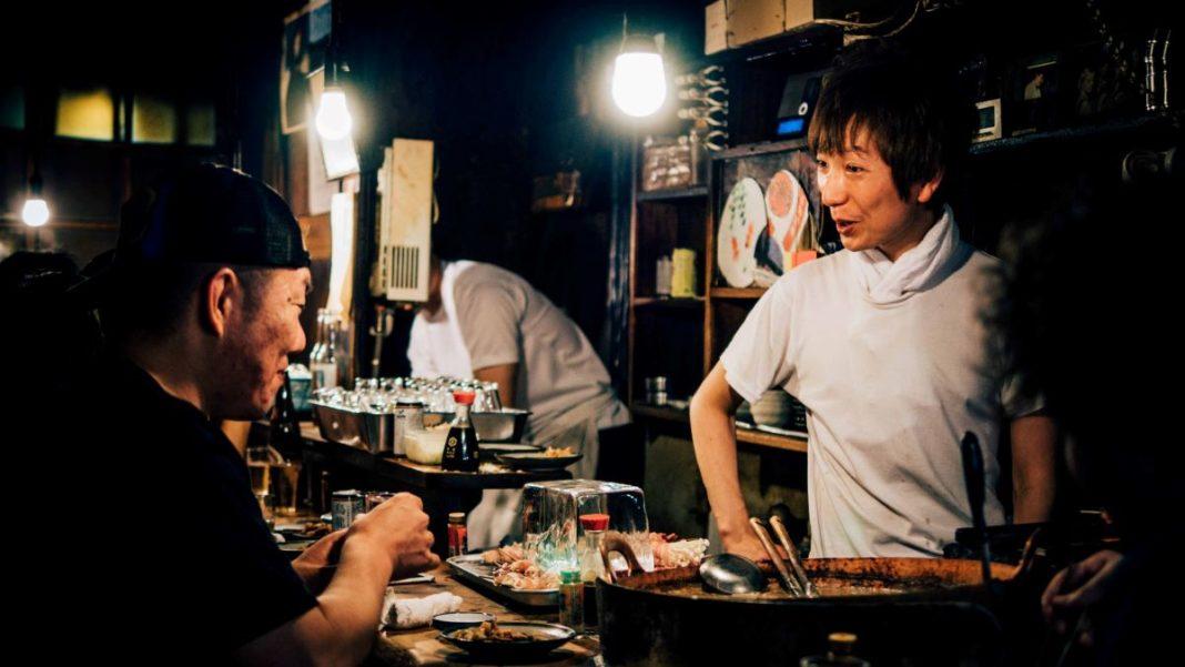 kitchen and service staff