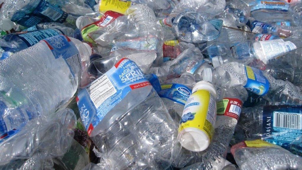 discarded plastics