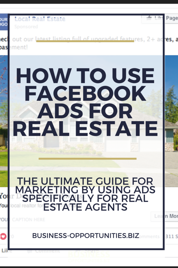 Using Facebook Ads for real estate marketing is an excellent resource when done correctly. Learn how to use Facebook ads to target new audiences, reengagement, and ultimately get more leads as a real estate agent or broker.