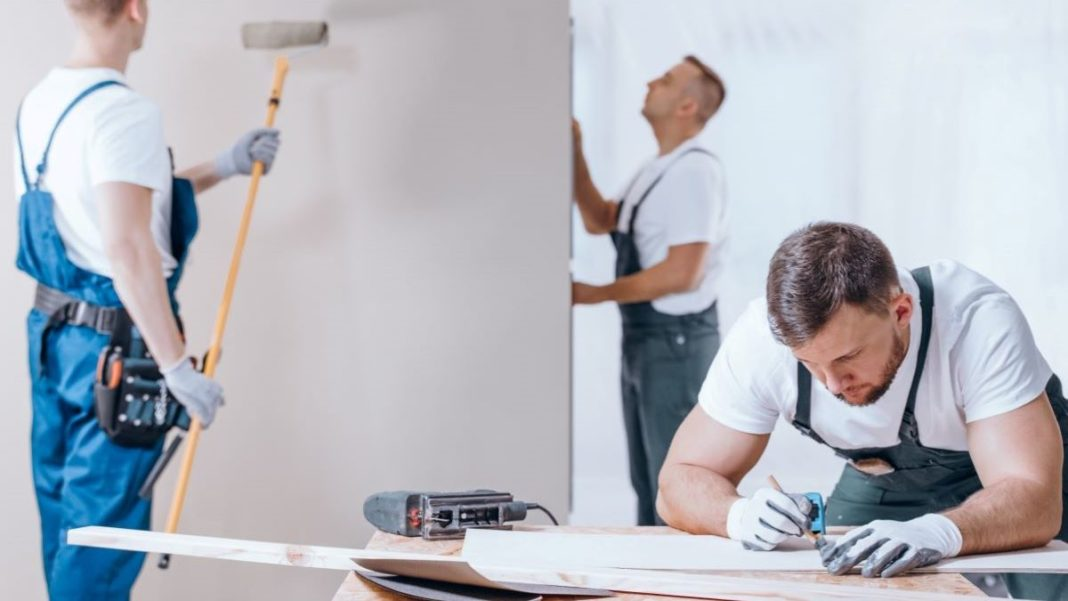 painting contractor business - featured image