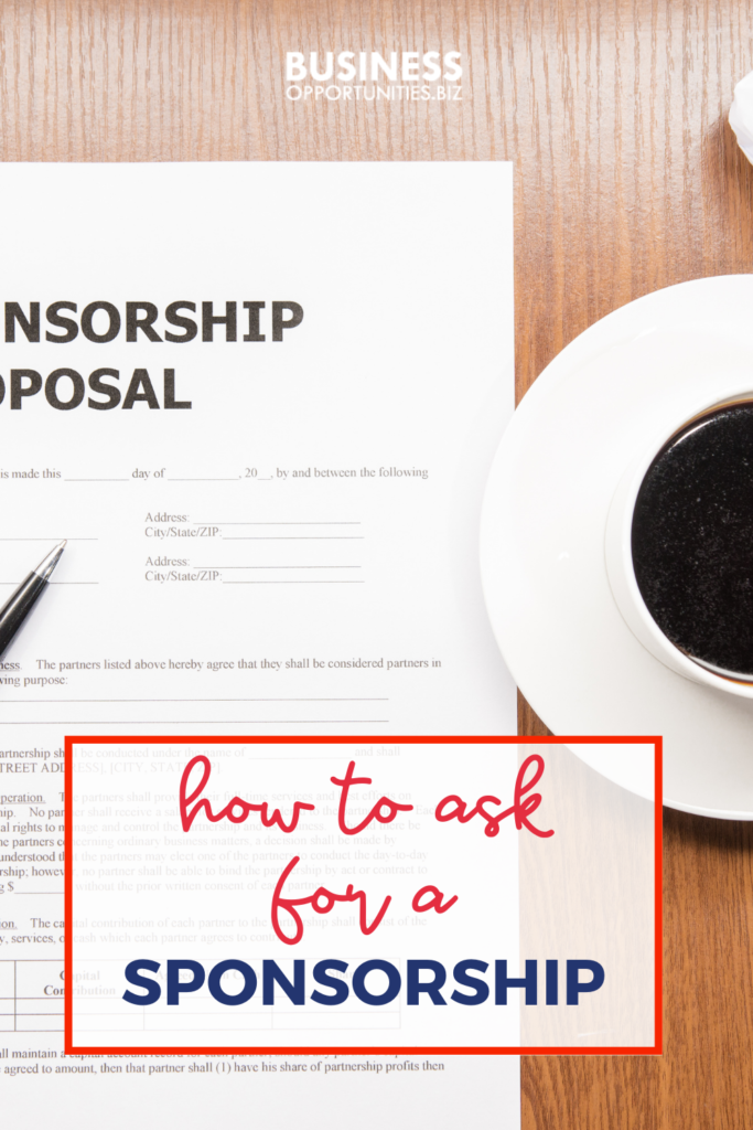 Learn everything you need to know when it comes to asking for a sponsorship.